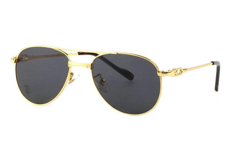 Wholesale Replica Cartier Full Rim Metal Glasses for Sale-028