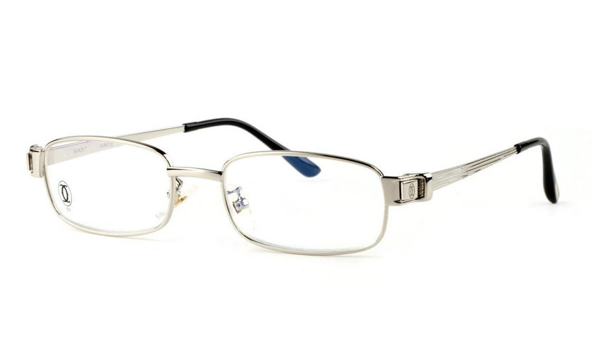 Wholesale Replica Cartier Full Rim Metal Eyeglasses Frame for Sale-033