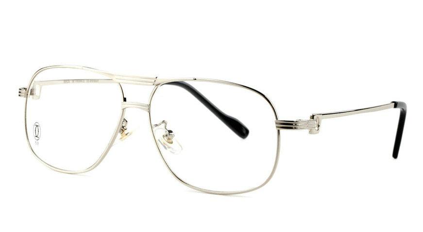 Wholesale Replica Cartier Full Rim Metal Eyeglasses Frame for Sale-034