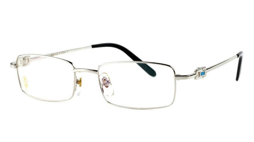 Wholesale Replica Cartier Full Rim Metal Eyeglasses Frame for Sale-038
