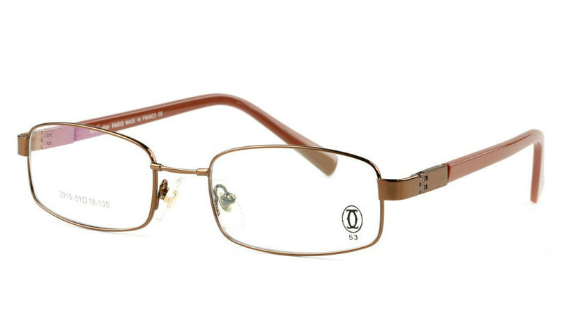 Wholesale Cheap Cartier Metal Memory Plastic Glasses Frames For Sale-015