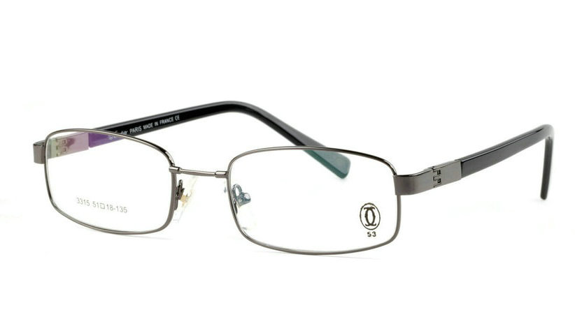 Wholesale Cheap Cartier Metal Memory Plastic Glasses Frames For Sale-018