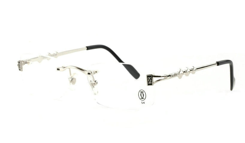Wholesale Cheap Cartier Replica Rimless Glasses Frames for Sale-026
