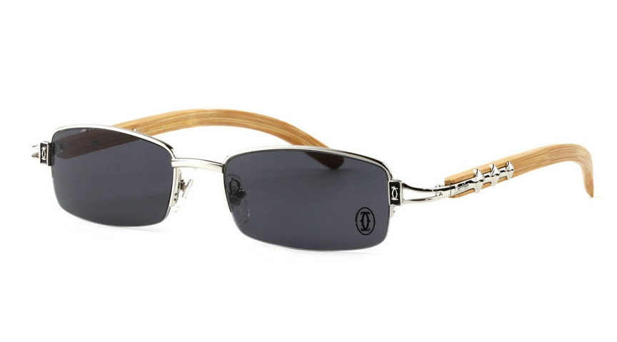 Wholesale Cheap Cartier Bamboo Glasses Frames for Sale-023