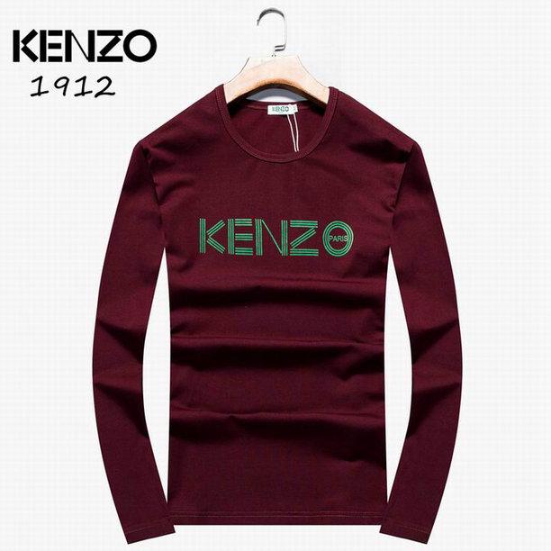 Wholesale Kenzo Long Sleeve t shirts For Men-005
