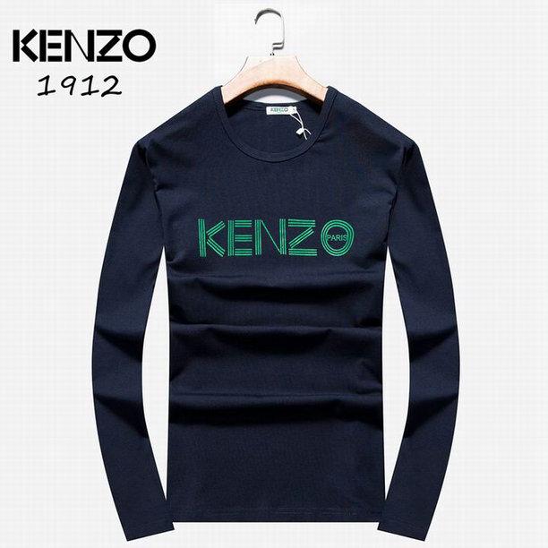 Wholesale Kenzo Long Sleeve t shirts For Men-006