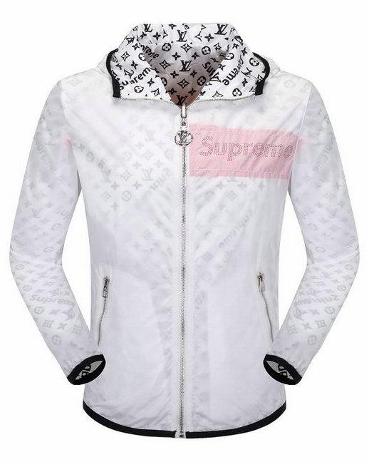 Wholesale Louis Vuitton supreme Coat for Men-001