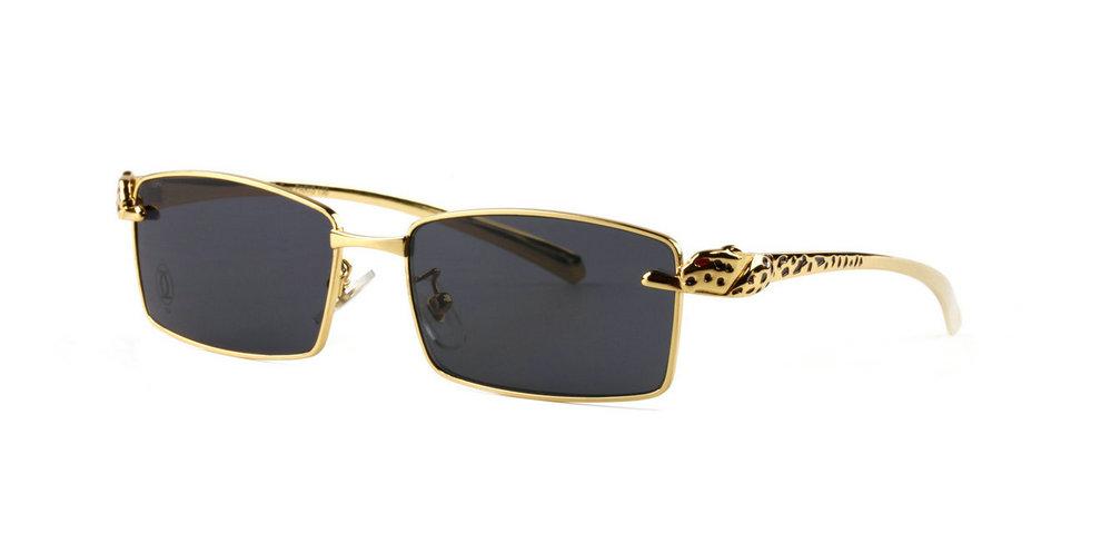 Wholesale Cheap Panthere de Cartier Glasses Frames Replica for Sale-034