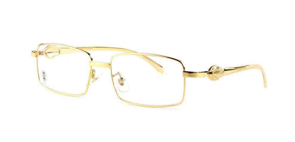 Wholesale Cheap Panthere de Cartier Glasses Frames Replica for Sale-039