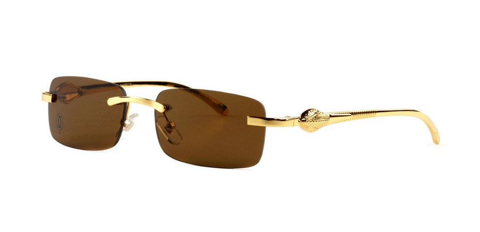 Wholesale Cheap Panthere de Cartier Glasses / Frames Replica for Sale-041