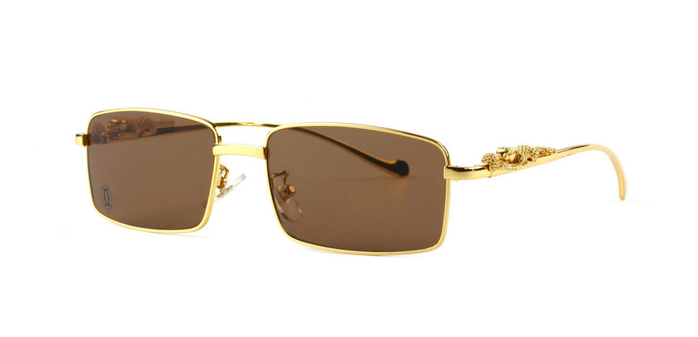 Wholesale Cheap Cartier Panthere Replica Sunglasses & Frames for Sale-047