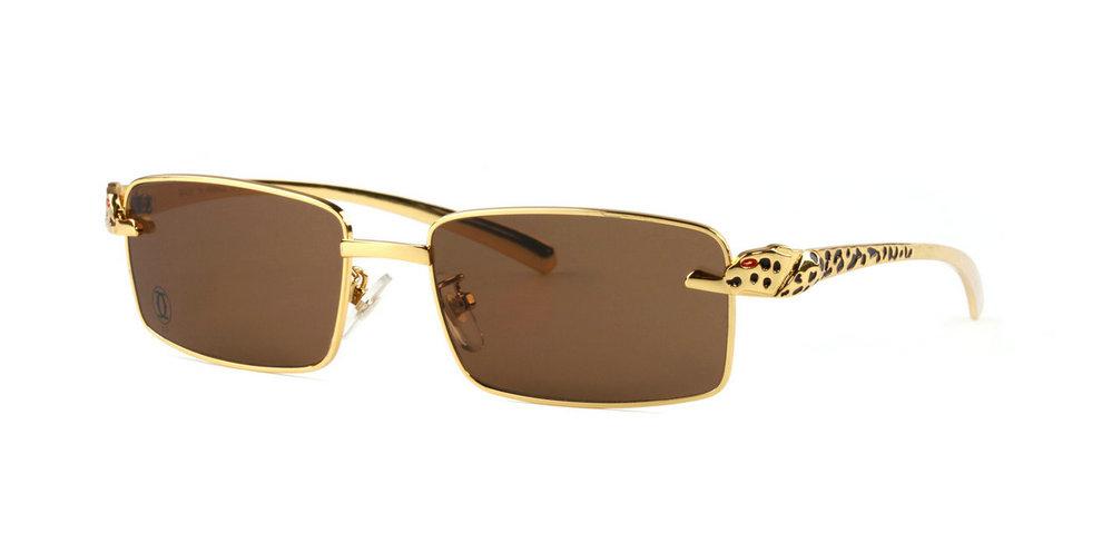 Wholesale Cheap Panthere de Cartier Glasses Frames Replica for Sale-060