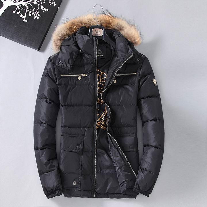 Wholesale Versace Down Jackets & Coats for Men-001